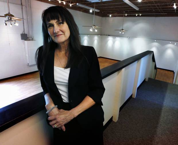 Kathryn McGill, director of Shakespeare in the Park, in the new offices for her organization at 2920 Paseo St., on Tuesday, July 29, 2014 in Oklahoma City, Okla. Photo by Steve Sisney, The Oklahoman