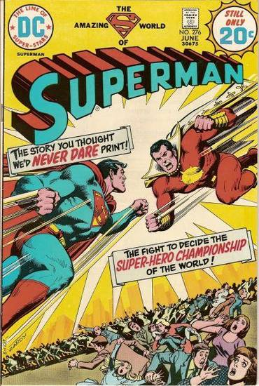 "In 1974, an issue of ""Superman"" was 20 cents.   What's a fair price in 2010?"