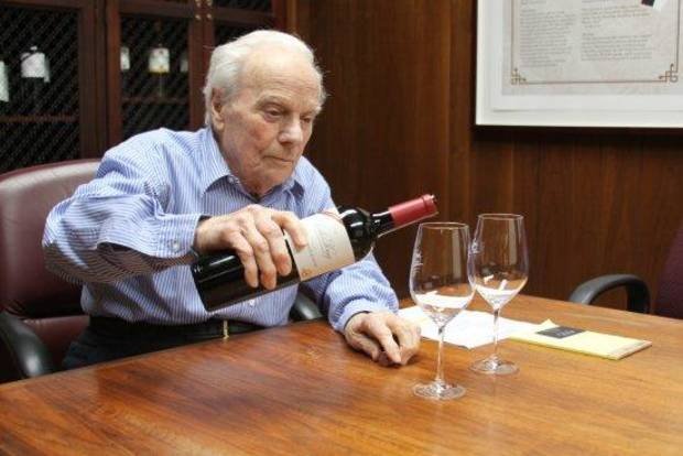 Peter Mondavi Sr. is headed for the Vintner's Hall of Fame.