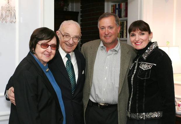 Sandra and Pierre Alaupovic, Chris Carey, Betsy Hyde. - Photo By David Faytinger, For The Oklahoman