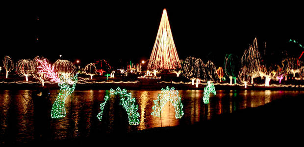 Shown is The Festival of Light in Chickasha. <strong>PROVIDED - Photo Provided by The Express-St</strong>