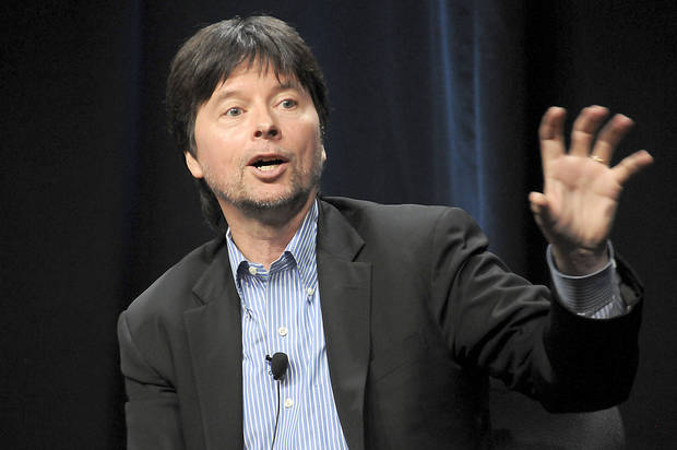Filmmaker Ken Burns is producing a four-hour documentary, �The Dust Bowl,� for PBS. Photo by JAKE LANDIS, PBS