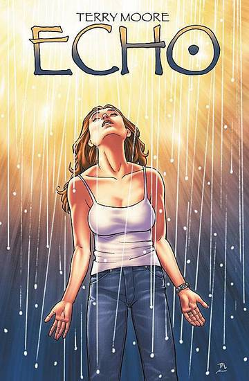 "Terry Moore's new comic book, ""Echo."" PHOTO PROVIDED BY TERRY MOORE"