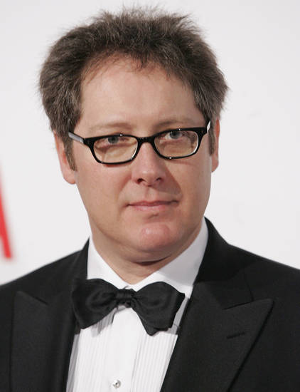 Actor James Spader poses on the press line at the opening gala celebration of the Broad Contemporary Art Museum at LACMA in Los Angeles on Saturday, Feb. 9, 2008. (AP Photo/Dan Steinberg)