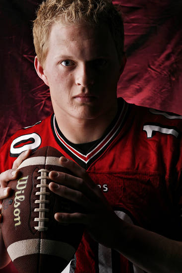 Westmore High School's Ryan Fightmaster All Big City Quarterback.  