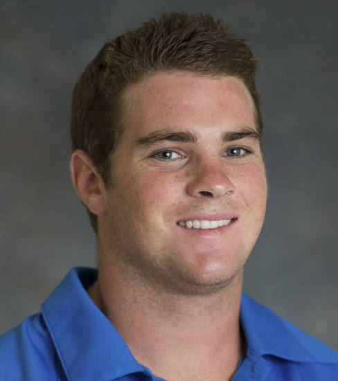 In this undated image provided by UCLA, freshman football player Nicholas Pasquale poses for a photograph. Pasquale was struck and killed by a car early Sunday, Sept. 8, 2013, in San Clemente, Calif. (AP Photo/UCLA)
