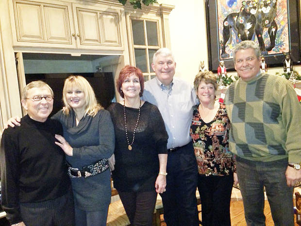 Jerry and Charlotte Hess, Barbara and Greg Cable, Denise and Elto Garcia.