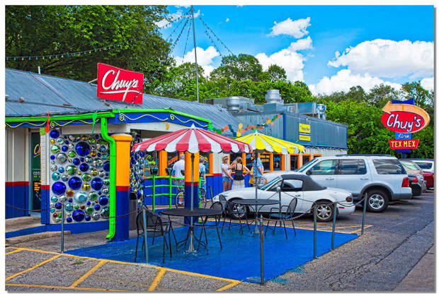 The original Chuy's in Austin. A new location will soon open in Norman.