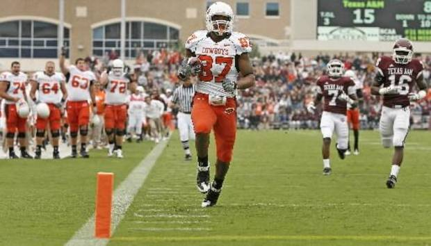 Expect Tracy Moore to be a key target in OSU's spread offense in 2010