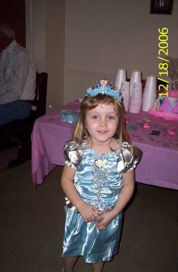 Dressing up like a princess was one of Alexis Morris' favorite activities. <strong>Photo provided - Photo provided</strong>