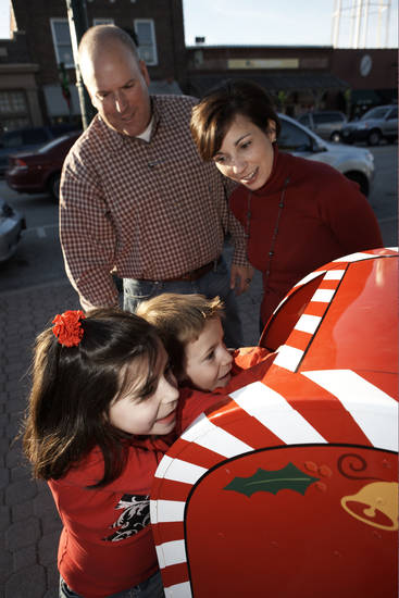 Children can mail a letter to Santa in Grapevine, Texas. Photo provided. <strong></strong>