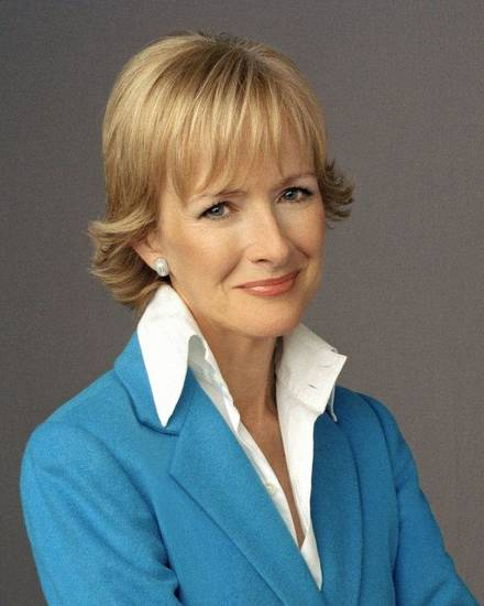 PBS Newshour's Judy Woodruff. PHOTO PROVIDED. <strong></strong>