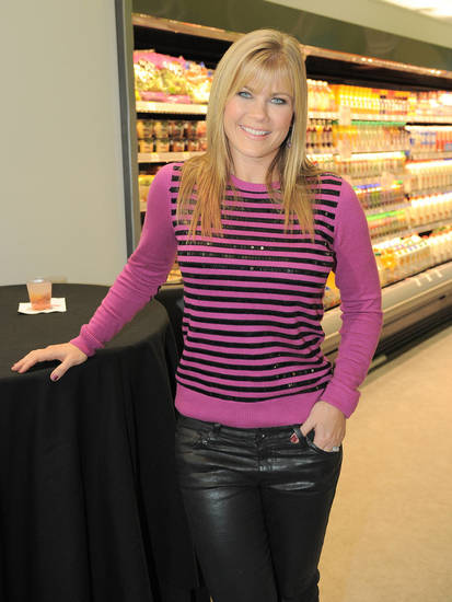 In this photo released  Dec. 3, 2012, Alison Sweeney attends Walgreens 8000th store opening, in Los Angeles. Photo by Jordan Strauss/Invision for Walgreens/AP Images <strong>Jordan Strauss - Invision for Walgreens</strong>