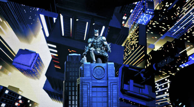 "Batman as seen in the ""Batman Live"" production. Photo provided by Batman Live. <strong></strong>"