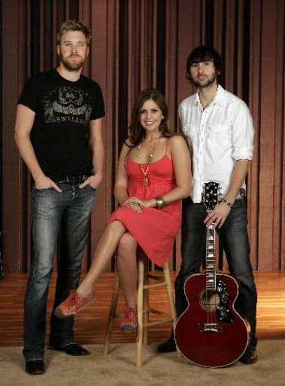 Lady Antebellum (AP file photo)