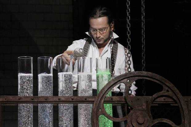 Constantine Maroulis stars as Henry Jekyll in �Jekyll & Hyde.� Photos by Chris Bennion