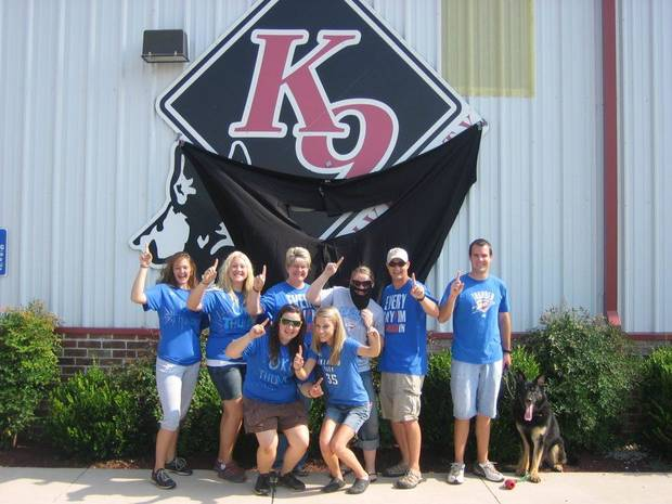 The staff at K9 University
