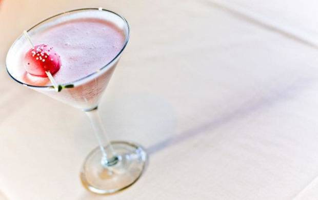 Strawberry shortcake martini at Boulevard Steakhouse in Edmond. Photo by Chris Landsberger, The Oklahoman. <strong>CHRIS LANDSBERGER</strong>