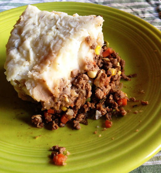 Shepherd's Pie. Photo by Dave Cathey <strong></strong>