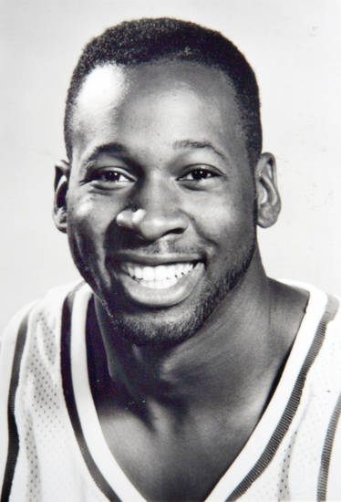 Former OU basketball player Wayman Tisdale. Photo provided. Photo taken unknown, Photo published 4/23/1993 in The Daily Oklahoman. ORG XMIT: KOD