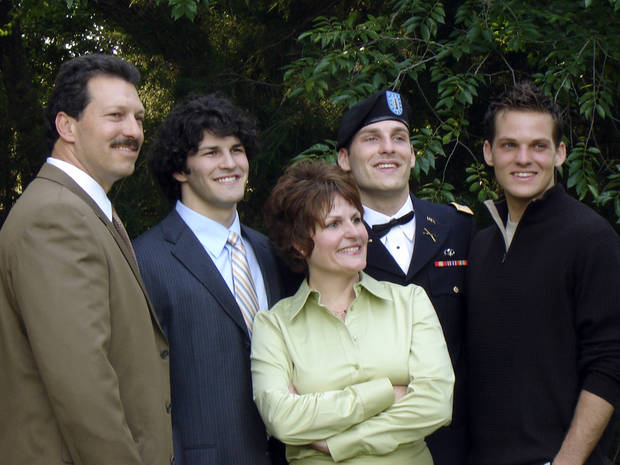 Scott, Brett, Vicki, Michael, and Curtis Behenna in a family picture in the summer of 2006. Photo provided by the Behenna Family
