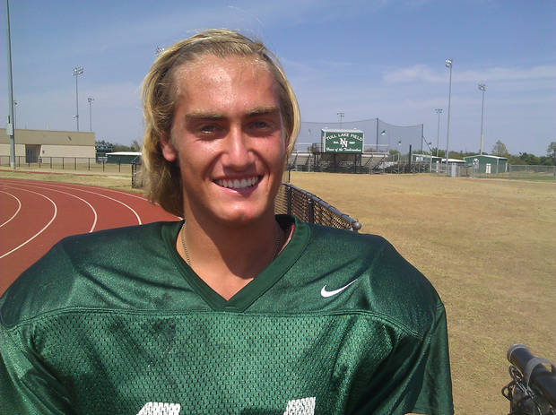 Redford Jones, Norman North kicker. PHOTO PROVIDED