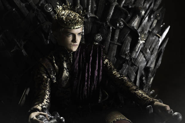 Joffrey Baratheon (but really Lannister, 'cause, you know, incest and all.)