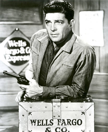 "Dale Robertson as Jim Hardie in the 1950s TV series ""Tales of Wells Fargo."" PHOTO PROVIDED <strong>PHOTO PROVIDED</strong>"