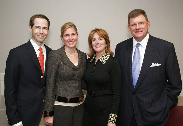 Bobby and Libby Nelson, and Louise and Clay Bennett. - PHOTO BY DAVID FAYTINGER, FOR THE OKLAHOMAN