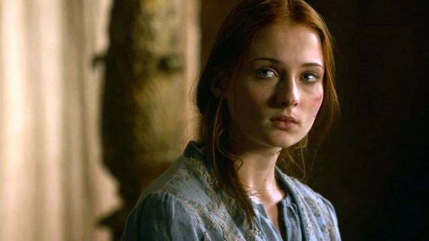 Sansa Stark, the little dove.