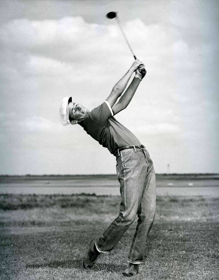 Ab Justice, one of Oklahoma�s pioneers in golf, died on Monday. His funeral is Friday in Moore. Justice was Oklahoma State�s first All-American, compiled several course records, won the Oak Tree National club championship seven times, played briefly on the PGA and Senior Tours and helped run Oklahoma�s largest golf cart company, a family owned business.