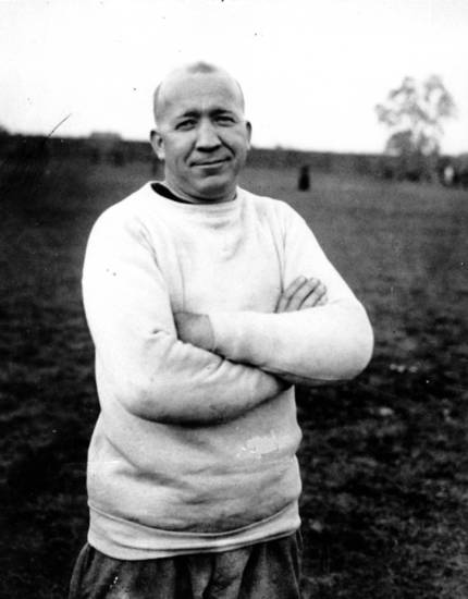 Notre Dame coach Knute Rockne in 1925. (AP Photo)