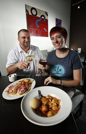 Ryan Parrott was the original executive chef for Local. Heather Steele is co-owner and catering manager.