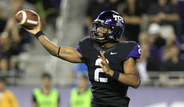 TCU quarterback Trevone Boykin has played admirably since taking over as starter in the middle of the season. AP PHOTO