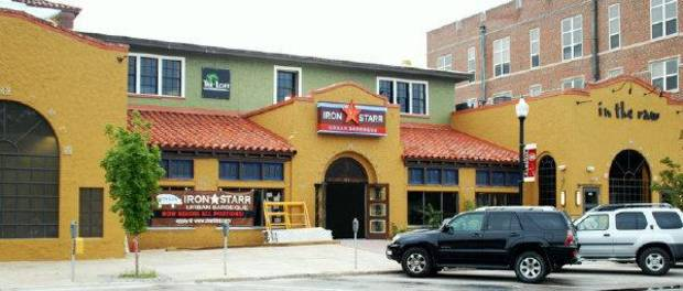 BUILDING EXTERIOR: Iron Starr Urban BBQ	restaurant 	ORG XMIT: 0909291613579826 <strong>PROVIDED</strong>