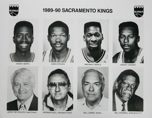 Former OU basketball player Wayman Tisdale. Wayma Tisdale with the 1989-1990 Sacramento Kings. Photo taken unknown, Photo published unknown. ORG XMIT: KOD