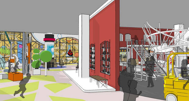 Plans for a children's hall at Science Museum Oklahoma include a so-called tinkering gallery. The gallery will be an area filled with building materials which students will be encouraged to use to build structures, vehicles, robots or anything else that comes to mind.