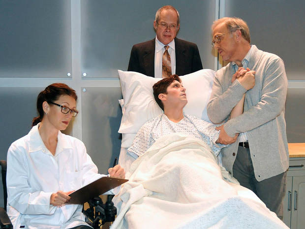 City Rep presents the Oklahoma premiere of Larry Kramer's brilliant, Tony-award-winning drama, �The Normal Heart,� at the Civic Center Music Hall. Photo provided