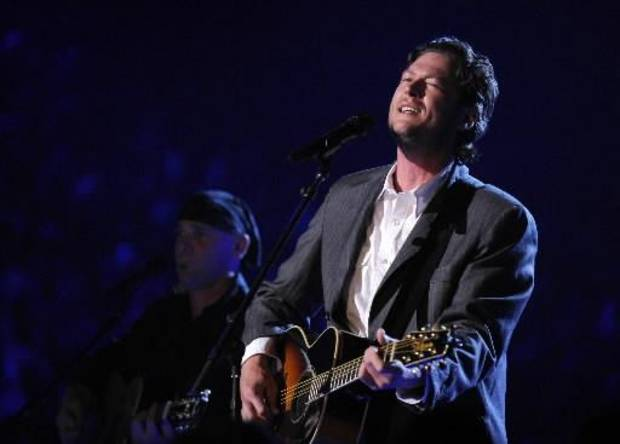 Blake Shelton (Associated Press file photo)