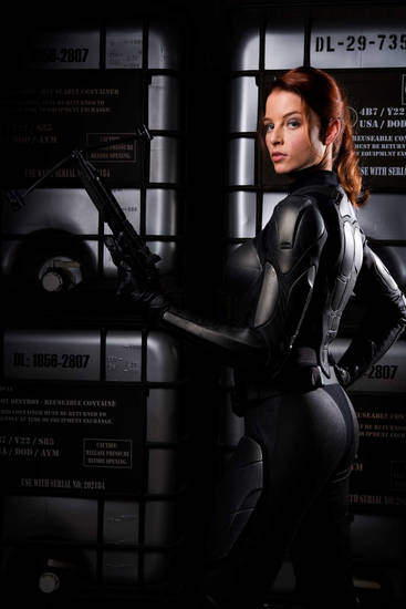 Rachel Nichols as Scarlett in GI Joe: Rise of Cobra
