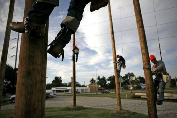 Pole Climbers at OSU OKC