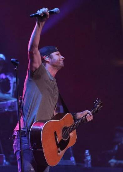 Dierks Bentley performs at the Chesapeake Energy Arena in Oklahoma City, Friday, March 8, 2013. Photos by Garett Fisbeck, For The Oklahoman