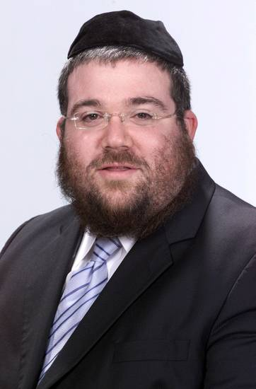 Rabbi Ovadia Goldman  <strong>Roger Klock - The Oklahoman</strong>