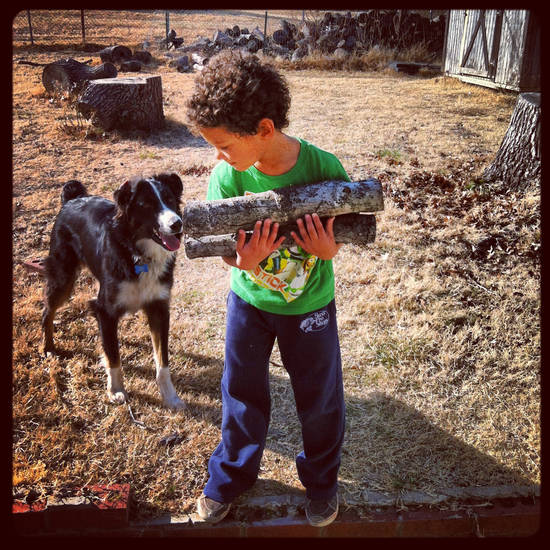 Kannon and his best friend, Murphy, who Andee Cooper  adopted for Kannon right after he was originally diagnosed with epilepsy in September 2011. Murphy has been a great companion for Kannon, Cooper said. <strong></strong>