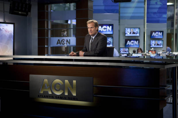 "Jeff Daniels stars in ""The Newsroom"" - HBO Photo"