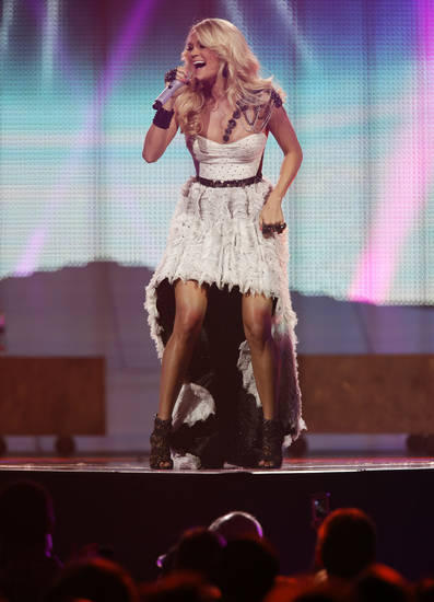 Carrie Underwood. <strong>GARETT FISBECK - The Oklahoman</strong>