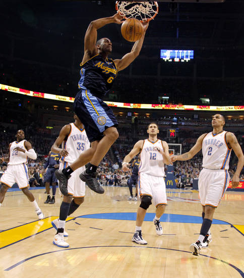 Forward Arron Afflalo: Averaged 12.6 points per game this season. Photo by Bryan Terry, The Oklahoman