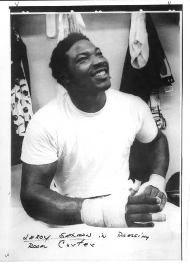 Lee Roy Selmon on Feb. 16, 1976