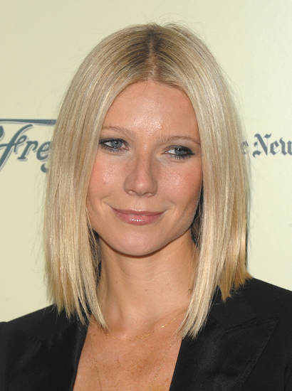 "Actress Gwyneth Paltrow arrives at the launch party for the PBS television series of ""Spain...on the Road Again"" in New York on Sunday, Sept. 21, 2008. (AP Photo/Peter Kramer) ORG XMIT: NYPK103"