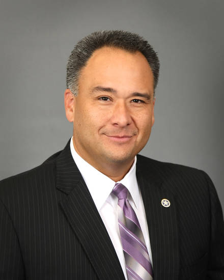 Nico Gomez, the new chief executive of the Oklahoma Health Care Authority <strong>Provided - Provided</strong>